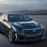 2016 Cadillac CTS-V launched at Detroit Auto Show