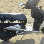 Hero Dash 110 cc Automatic Scooter Spy Pictures