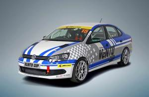 VW Vento Cup front three quarters