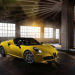 2015 Alfa Romeo 4C Spider revealed at Detroit