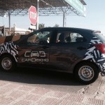 New Ford Figo Spied in India