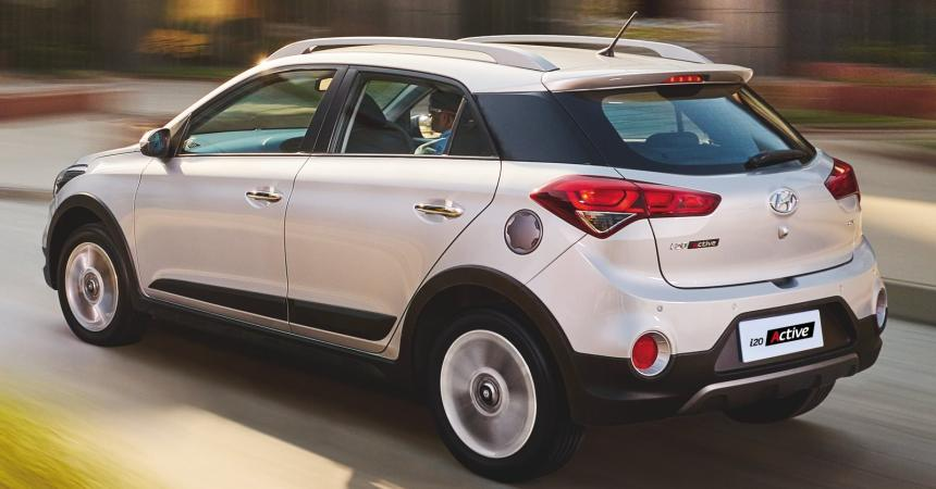 2015 Hyundai i20 Active rear