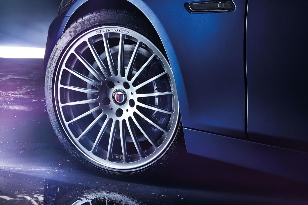 Alpina Edition V8 biturbo wheel