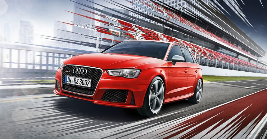 Audi RS3 Front Track