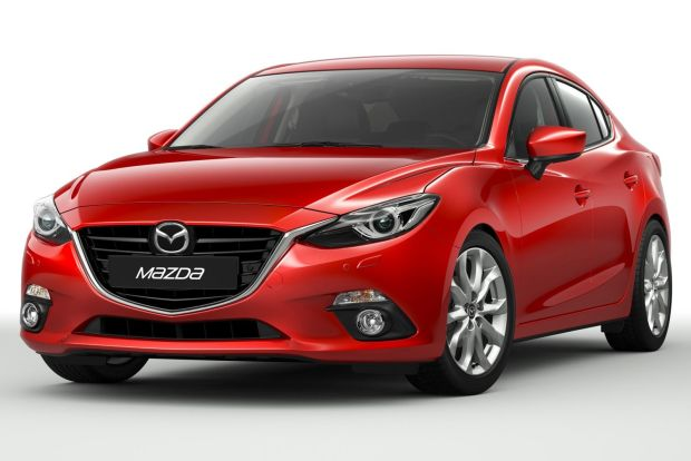 2014 mazda 3 front three quarters