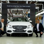 Mercedes-Benz rolls-out the new C 220 CDI – 'Make in India' Initiative