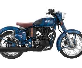 Royal Enfield Despatch Riders Side Profile