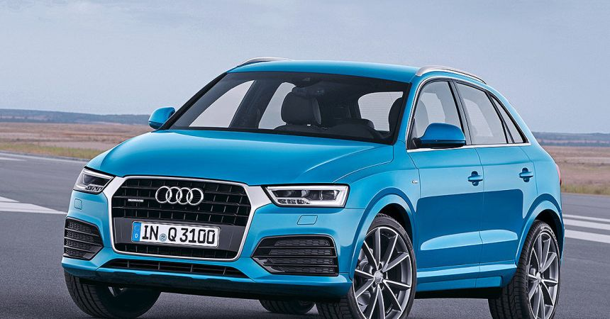 Audi Q3 facelift Front Three Quarter