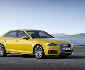 2016 Audi A4 front three quarters