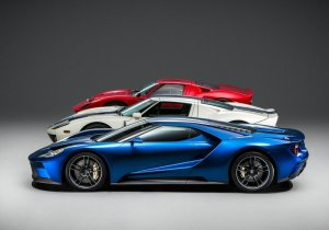 2017 Ford GT generations
