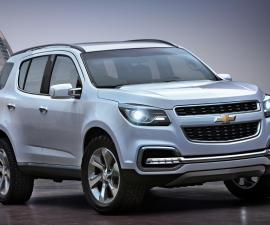 Chevy Trailblazer Front Three Quarters