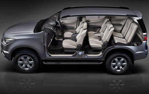 Chevrolet Trailblazer Interior