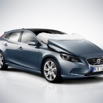 How Volvo hatchback V40 Pedestrians Airbags Work