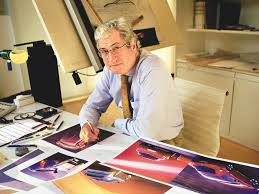 Girgetto Giugiaro at his desk