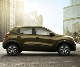 2015 Renault Kwid side profile