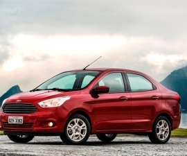 All New Ford Figo Aspire front Three Quarters