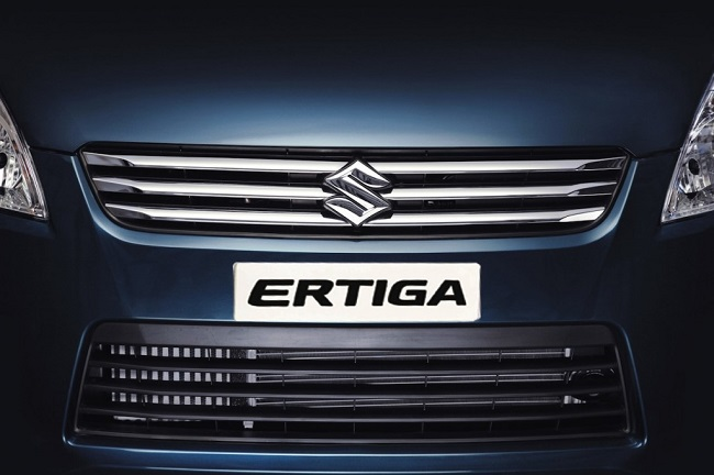 Maruti Ertiga facelift version