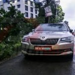 2015 Skoda Superb Spotted In Pune
