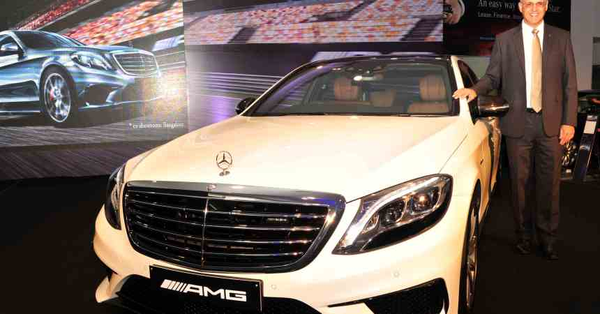 2015 Mercedes Benz AMG S63 in India
