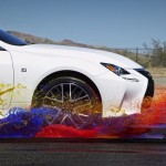 Video of the Day: Lexus Creates a rainbow of Paint in slow motion