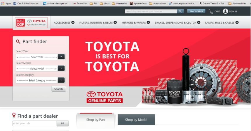 Toyota Parts Connect