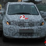 Tata Hexa spied with heavy camouflage