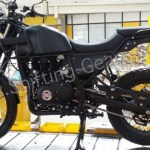 2015 Royal Enfield Himalayan spotted on production line