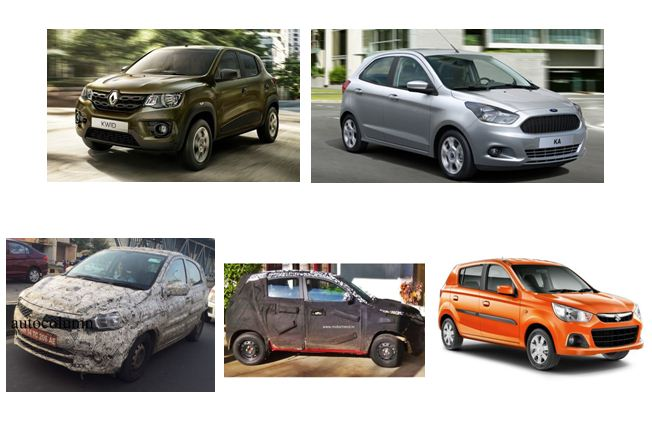 Upcoming Hatchbacks under 5 lakh