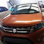 Maruti Suzuki Vitara compact SUV spied in India