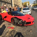 LaFerrari crash video emerges online