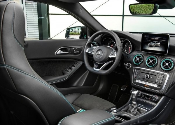 Interiors of Mercedes Benz A Class facelift