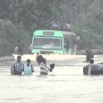 Bus drives in 5 ft. water clog in Chennai – Video of the Day