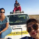3 Indian Moms travel from India to London in a Scorpio