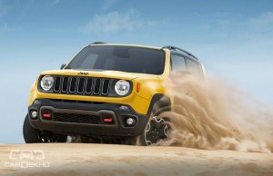 2016 Jeep Renegade in Action
