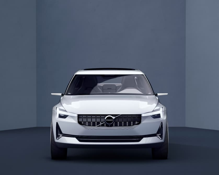 Volvo 40 series concept front view