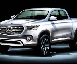 Mercedes Benz Pickup Truck
