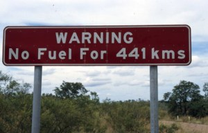 No Fuel Warning