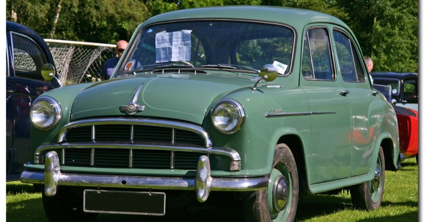Morris Oxford Series II. Original Inspiration for the Ambassador. (SOURCE)