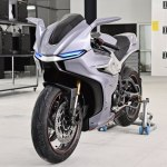 This Zortrax 3D printed Motorcycle Flaunts a lot of Tech