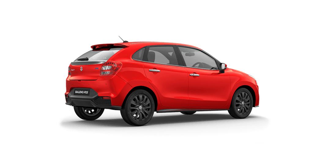 Baleno RS Rear three quarters