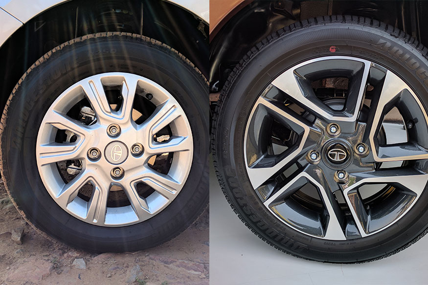 14 Inch Alloys / 15 Inch Diamond Cut Alloys