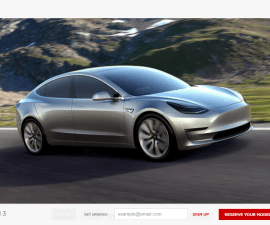 Tesla Model 3 Book Yours Now!