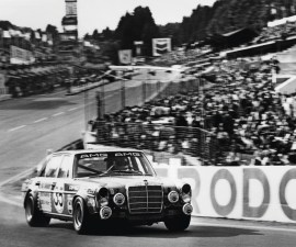 The AMG 300 SEL 6.8 at the 24-hour race in Spa-Francorchamps 1971