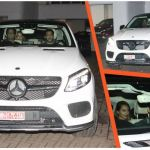 SRK Gifts A Brand New Mercedes-Benz GLC 43 AMG to Salman Khan As A Token Of Friendship