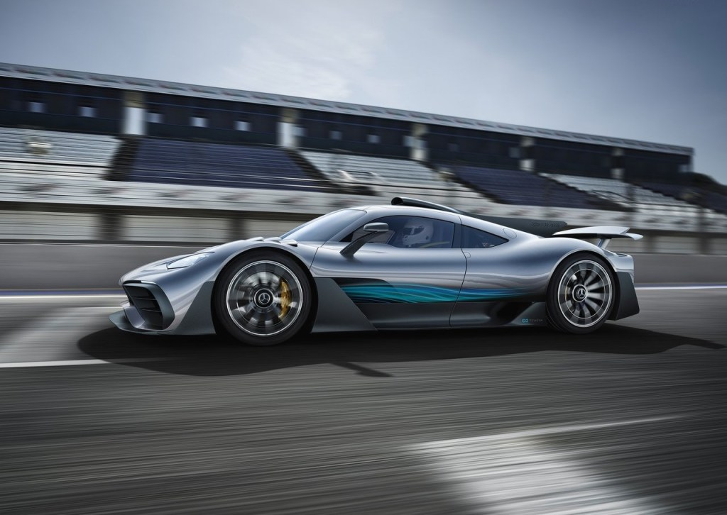 2019 Mercedes AMG Project One side profile