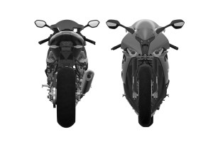 2019 BMW S1000RR front and rear