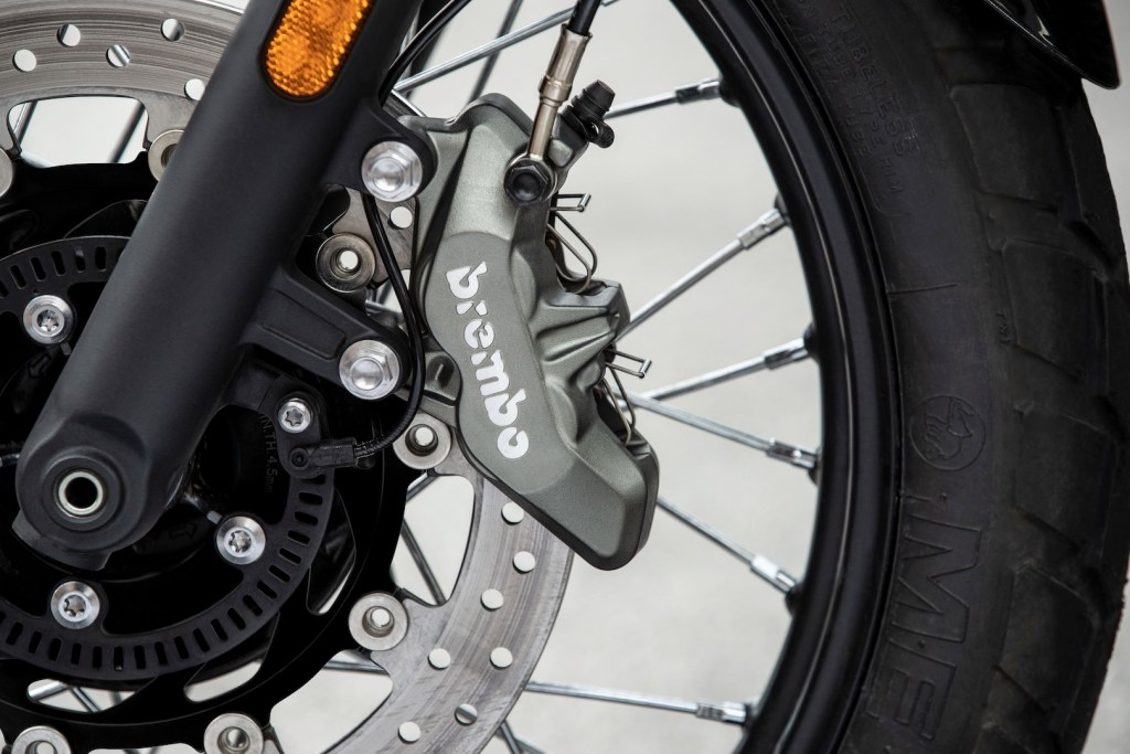 2019 Triumph Street Scrambler with new Brembo Calliper