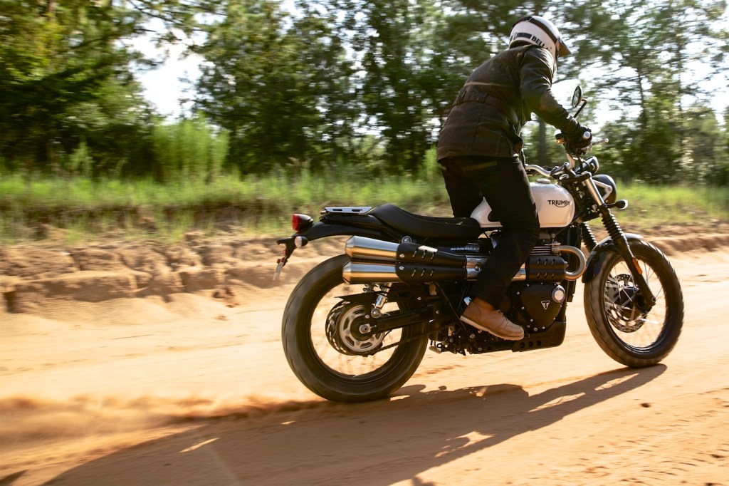 2019 Triumph Street Scrambler with 2 new power modes