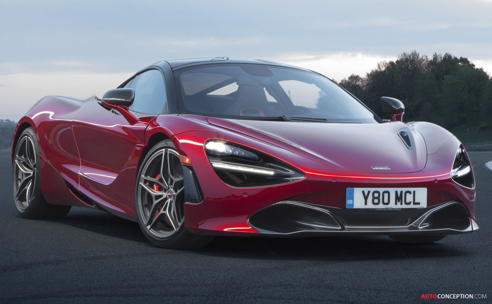 Mclaren 720s Crowned Most Beautiful Supercar Of The Year