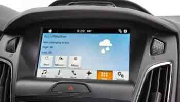 Ford SYNC 3 gets up-to-minute rain, snow, sleet or hail | auto